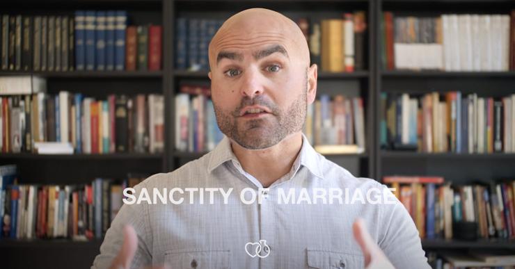 Karlo Broussard explaining Sanctity of Marriage